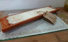 Mandarino arancione profumo 3 STOPPINO CANDELA naturale Dividi Bambù 15 HR bruciare tempo cera di soia