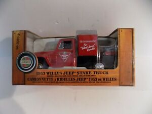 1953 Willys Jeep Stake Truck Canadian Tire 1:25 Limited Edition Series 2 No 4