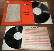 GEORGES CHATELAIN - Guitares Folk Rare French Library Folk LP Telemusic 19