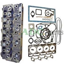 V1505 New Complete Cylinder Head + Full Gasket Kit For Kubota Engine