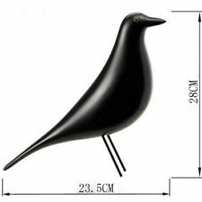 Black Charles & Ray Eames House Bird Home Decor Desk Ornament Office Pigeon Dove