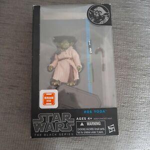 "Star Wars Black Series 6"" Yoda #06 Blue Line Japanese???"