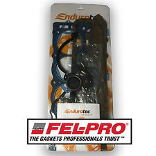 Felpro + Endurotec Holden 253 308 Full Gasket Set Red Motor Rope Rear Main Seal