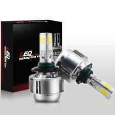 90W 9000lm 3 Sides LED Headlight Fog Light Kit 9005 HB3 9011 HID 6000K Bulbs
