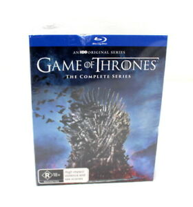 GAME OF THRONES THE COMPLETE SERIES BLURAY