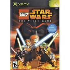 LEGO Star Wars: The Video Game (Microsoft Xbox, 2005) WORLD SHIP AVAIL