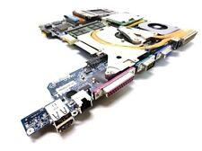 DELL NF554 Latitude D610 Motherboard Assembly 1.73GHz 1GB WiFi Heatsink Fan etc.