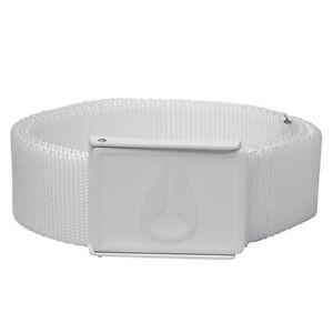Nixon Mono Enamel Wings Belt (White) C1772100-00