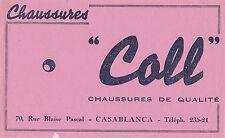 Buvard Vintage  Chaussures Coll  Casablanca