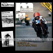LA REVUE DES MOTARDS N°40 YAMAHA RD 350 JOHN PLAYER NORTON 850 MOTOBECANE MOBYX