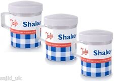 3x Tala Icing Sugar Chocolate Flour Dusting Sprinklers Shakers ideal for Cakes