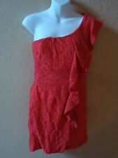 New Womens TFNC London Dress Coral JollyLace Large