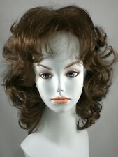 Wavy Blond Page Gypsy Wig w/ Bangs, Wigs w/ Loose Curls