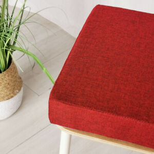 Thick Square Cushion Sponge Pads Chair Seat Booster Office Garden Patio