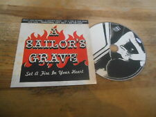 CD Punk A Sailor's Grave - Set A Fire In Yr Heart (11 Song) Promo CRAZY LOVE cb
