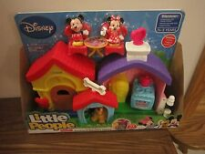 Fisher Price Little People Magic Kingdom Disney Mickey Mouse Minnie House home