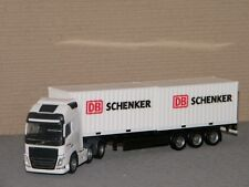 VOLVO FH GI XL 6x2 container semi DB Shenker HERPA 1/87 Ref 305839
