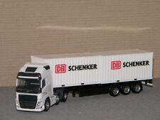 1/87 Herpa Volvo FH Gl. XL 6x2 Semi-remorque de Conteneur DB Schenker 305839