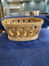 2006 Longaberger Little Laundry Booking Basket Combo liner and protector