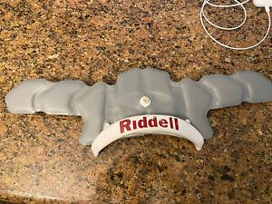 Riddell Revo SPEED Football Helmet Rear Bumper Bladder Pads Large Gray - READ