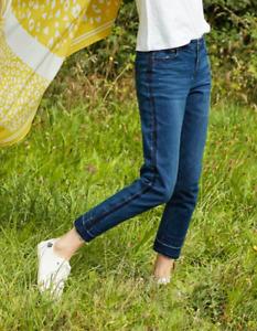 JOULES Simone Girlfriend Jeans Mid Indigo Denim Sz 10 RRP£59.95 FreeUKP&P