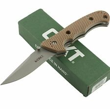 CRKT Jim HAMMOND CRUISER Standard Edge DESERT Folding Pocket Knife 7904DIN