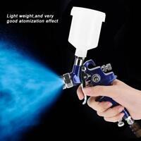 Pistola Aerografo Spray Serbatorio Verniciatura Professionale 125ML HVIP 0.8/1mm