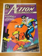 ACTION COMICS #618 DC NEAR MINT CONDITION SUPERMAN SEPTEMBER 1988