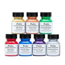 New Angelus Pearlescent Leather Paints - Set of 7 (Full Set)