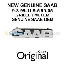 NEW SAAB Grille Emblem - FITS: 9-3 99-11 9-5 99-05 Genuine OEM Saab Part 4830071