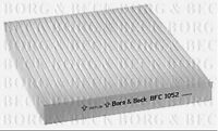 BFC1052 BORG & BECK CABIN AIR FILTER fits Mazda 6 Diesel Cabin Filter