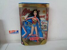 MATTEL BARBIE COLLECTOR EDITION WONDER WOMAN DOLL FIGURE DC COMICS BRAND NEW