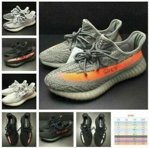 UK  Men Women Boost 350 V2 TRAINERS FITNESS GYM SPORTS RUNNING SHOCK Size 3-10
