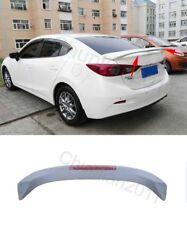 Factory Style Spoiler Wing ABS for 2014-2018 MAZDA 3 Sedan Light Wing 1PCS A