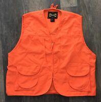 Master Sportsman Outdoor Hunting Safety Vest Back Size XXL blaze orange event