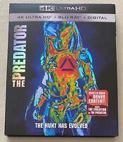 The Predator (4K UHD/Blu Ray/Digital HD, 2018) Like New, W/Digital & Slipcover!