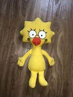 Vintage The Simpsons Plush Toy 1990 Dan Dee Maggie