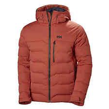 HELLY HANSEN 65548 Swift Loft Ski Insulated Jacket Red Brick Mens Size 3XL