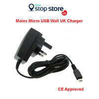 Quality UK Wall Socket 3 Pin Plug Mains Mobile Phone Charger Nokia 3310 (2017)