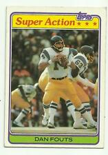 DAN FOUTS 1981 TOPPS SUPER ACTION #153 SAN DIEGO CHARGERS