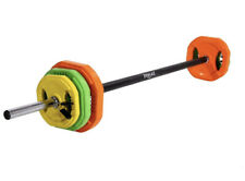Everlast 20KG Rubber Barbell With Weight Set ✅ FAST & FREE SHIPPING ✅