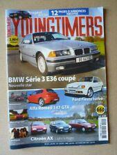 Youngtimers n°49, BMW 325i coupé E36, Ford Fiesta turbo, Alfa Romeo 147 GTA, Peu