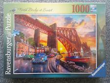 Ravensburger Puzzle 1000 Teile Forth Bridge bei Sonnenuntergang Art.-Nr. 16766