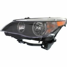 For 525xi 06-07, Driver Side Headlight, Clear Lens