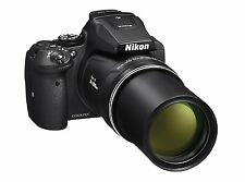 Nikon Coolpix P900 16.1MP Point and Shoot Camera (Black) with 83x Optical Zoom