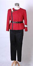 4pcs Star Trek II-VI Wrath of Khan starfleet Uniform costume
