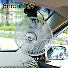 """ECO CAR TRUCK AUTO 8"""" 12V POWERED COOLING AIR FAN SUCTION CUP Absorption"""