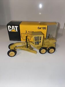 NZG Made In Germany Cat 12G Motor Grader Scale 1:50