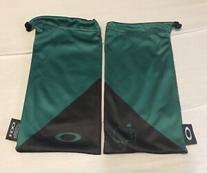Oakley HDO Microfiber Sunglasses Bag Green Black Masters Golf