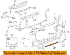 GM OEM Rear Bumper-Bumper Cover Retainer 11612237